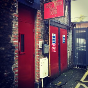 Stage Doors - always a little bit magical to pass through these!
