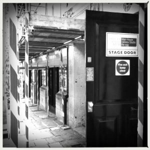Stage Door constructions.