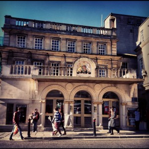 Lovely Theatre Royal Bath.