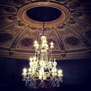 Roof top shot of the chandelier | Duke of York's